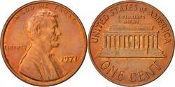 Us Coins - United States, Lincoln Cent, Cent, 1971, U.S. Mint, Philadelphia,
