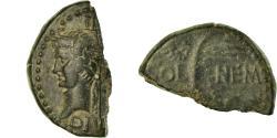 Ancient Coins - Coin, Augustus, Half Dupondius, 27-14 BC, Nîmes, , Bronze, RIC:155