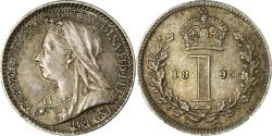 World Coins - Coin, Great Britain, Victoria, Penny, 1895, , Silver, KM:775