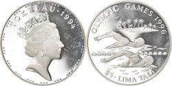 World Coins - Coin, Tokelau, Elizabeth II, 5 Tala, 1996, Pobjoy Mint, Proof,