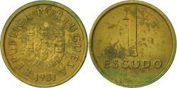 World Coins - Portugal, Escudo, 1981, , Nickel-brass, KM:614