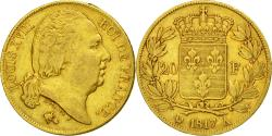 Ancient Coins - Coin, France, Louis XVIII, 20 Francs, 1817, Paris, VF(30-35), Gold, KM 712.1