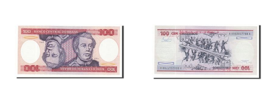 World Coins - Brazil, 100 Cruzeiros, 1981-1985, KM:198b, Undated (1981), UNC(65-70)