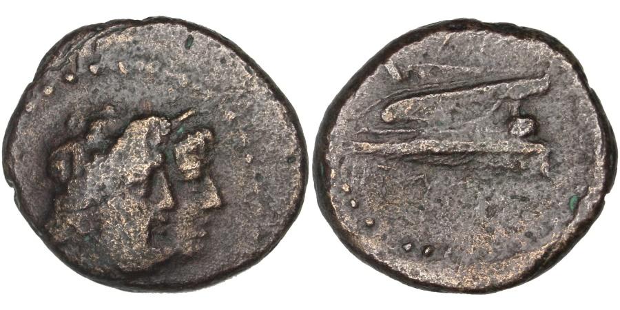 Ancient Coins - Phenicie, Arados, Zeus, Half Unit, Arados, , Bronze, 3.96