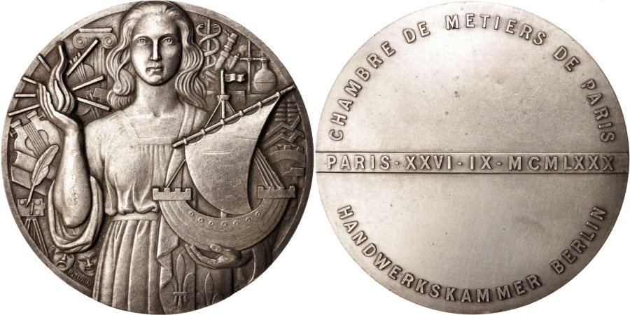 France medal chambre des m tiers de paris business for Chambre de metiers france