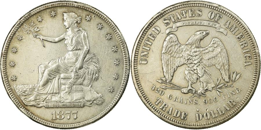 Coin United States Trade Dollar