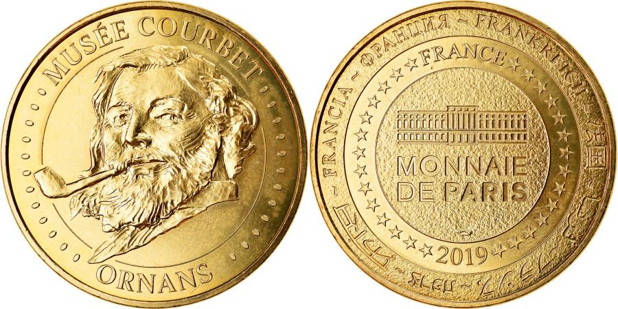 World Coins - France, Token, Ornans - Musée Courbet, 2019, MDP, , Cupro-nickel