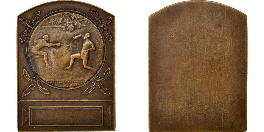 World Coins - FRANCE, Sports & leisure, French Third Republic, Medal, , Bronze, 52,..