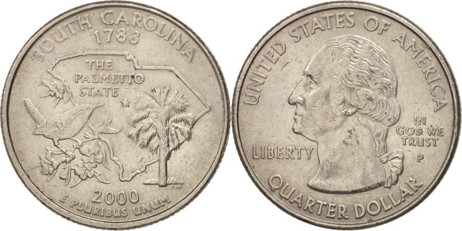US Coins - United States, Quarter, 2000, U.S. Mint, Philadelphia, , KM 307