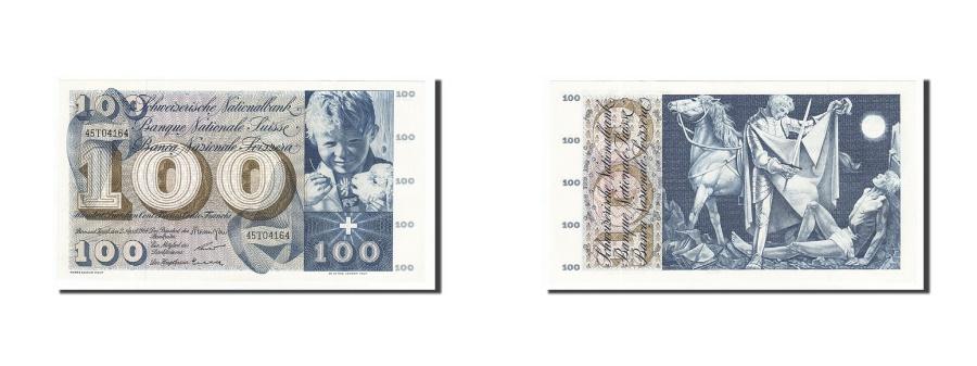 World Coins - Switzerland, 100 Franken, 1964, KM #49f, 1964-04-02, UNC(63), 45T04164