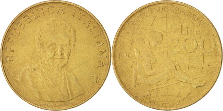1980 italian 200 lire coin value / Iota coin algorithm meaning