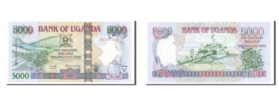 World Coins - Uganda, 5000 Shillings, 2004, KM #44a, UNC(65-70), DZ241228