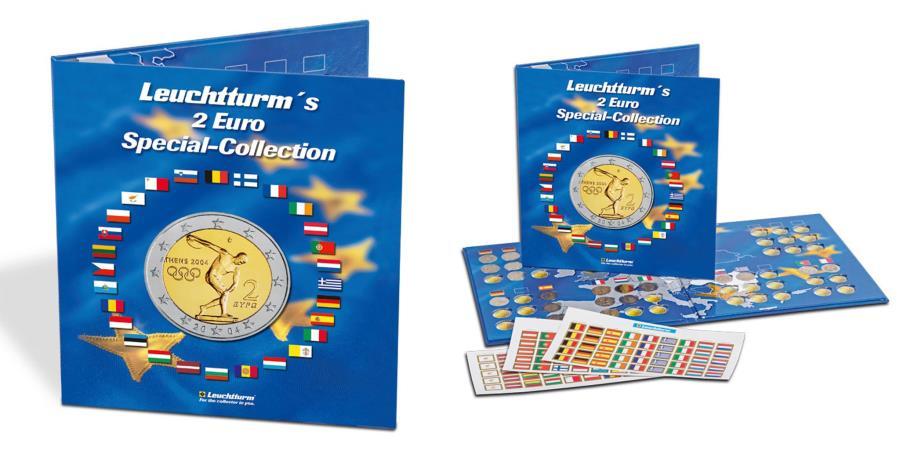 World Coins - Album, Blue, Leuchtturm:302574