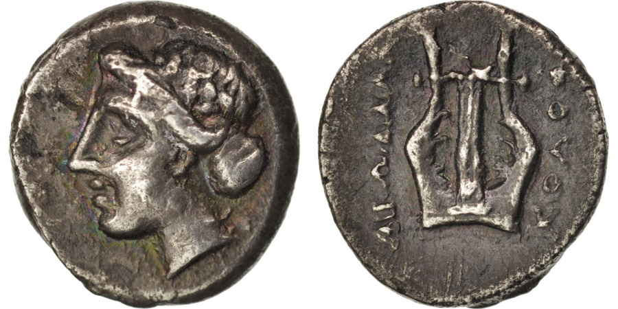 Ancient Coins - Ionia, Kolophon, Diobol, , Silver, Milne, Colophon 87A