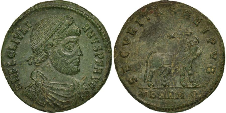 Ancient Coins - Coin, Julian II, Double Maiorina, 362-363, Sirmium, , Bronze