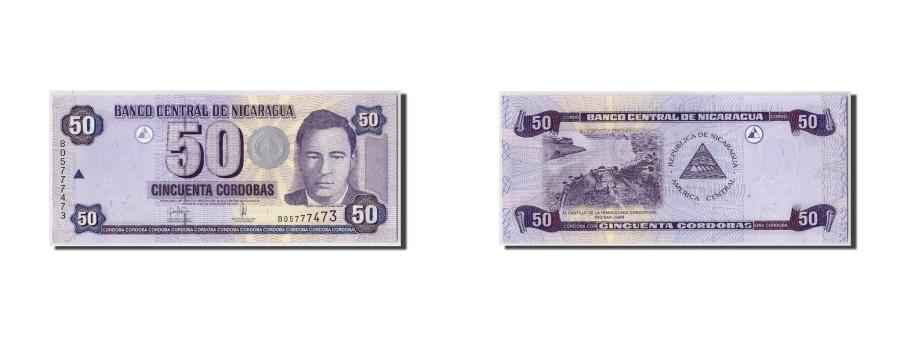 World Coins - Nicaragua, 50 Cordobas, 2006, KM:198, 2006-03-10, UNC(65-70)