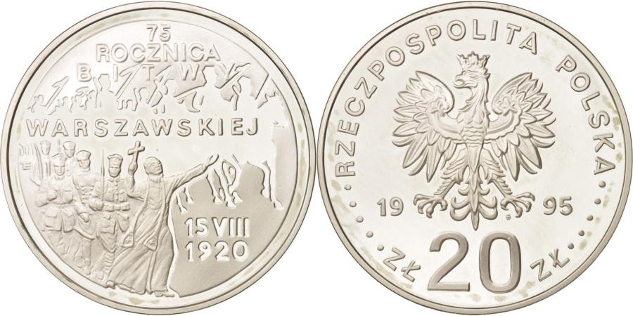 World Coins - Poland, 20 Zlotych, 1995, , Silver, KM:298