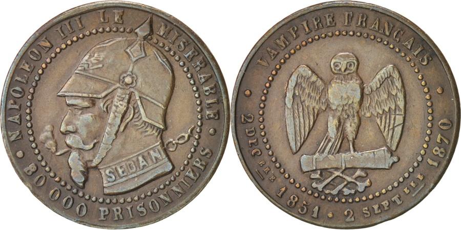 World Coins - FRANCE, 5 Centimes, 1871, , Bronze, 6.15
