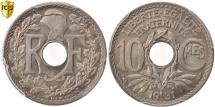 World Coins - France, Lindauer, 10 Centimes, 1931, Paris, PCGS, MS67, MS(65-70)