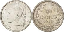World Coins - Liberia, 10 Cents, 1960, MS(65-70), Silver, KM:15