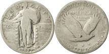 Us Coins - United States, Standing Liberty Quarter, Quarter, 1927, Philadelphia, KM 145