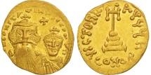 Constans II, Solidus, 641-668 AD, Constantinople, Gold, Sear:959