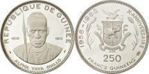 World Coins - Coin, Guinea, 250 Francs, 1969, MS(63), Silver, KM:13