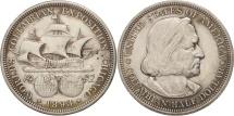 Us Coins - United States, Half Dollar, 1893, U.S. Mint, Philadelphia, AU(55-58), Silver