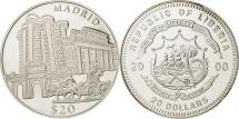 World Coins - Liberia, 20 Dollars, Madrid, 2000, MS(65-70), Silver, KM:640