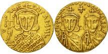 Constantine V Copronymus, Solidus, Constantinople, AU(50-53), Gold, Sear:1551