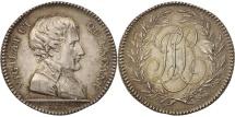 World Coins - France, Token, Napoleon, Préfecture de Police, 1802, Gatteaux, AU(55-58)