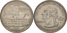 Us Coins - United States, Quarter, 2001, U.S. Mint, Philadelphia, AU(55-58), KM 322