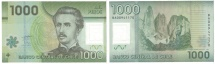 Chile, 1000 Pesos, 2011, KM:161, AU(55-58)