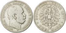 World Coins - German States, PRUSSIA, Wilhelm I, 2 Mark, 1877, Vienne, VF(30-35), Silver