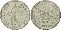World Coins - France, Semeuse, 2 Francs, 1996, Paris, MS(63), Nickel, KM:942.1, Gadoury:547