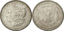 Us Coins - United States, Morgan Dollar, Dollar, 1882, U.S. Mint, Philadelphia, AU(50-53)