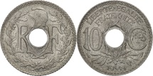 France, Lindauer, 10 Centimes, 1941, AU(55-58), Zinc, KM:896, Gadoury:288
