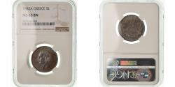 World Coins - Coin, Greece, George I, 5 Lepta, 1882, Paris, NGC, MS65BN, Copper, KM:54