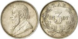 World Coins - Coin, South Africa, 3 Pence, 1897, , Silver, KM:3