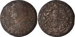 World Coins - Coin, France, Louis XVI, 2 sols françois, 2 Sols, 1792, Rouen,