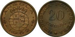 World Coins - Coin, Angola, 20 Centavos, 1962, , Bronze, KM:78