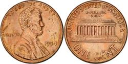 Us Coins - United States, Lincoln Cent, Cent, 1994, U.S. Mint, Philadelphia,