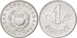 World Coins - HUNGARY, Forint, 1989, Budapest, KM #575, , Aluminum, 22.8, 1.51