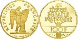 Ancient Coins - Coin, France, Droits de l'Homme, 100 Francs, 1989, , Gold, KM:970b