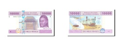 World Coins - Central African States, Cameroon, 10,000 Francs, 2002, KM:210U, UNC(65-70)