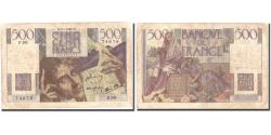 World Coins - France, 500 Francs, 500 F 1945-1953 ''Chateaubriand'', 1947, 1947-01-09