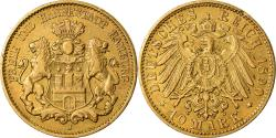 Ancient Coins - Coin, German States, HAMBURG, 10 Mark, 1890, Hamburg, , Gold, KM:608