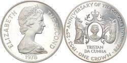 World Coins - Coin, Tristan Da Cunha, Elizabeth II, Crown, 1978, Pobjoy Mint,