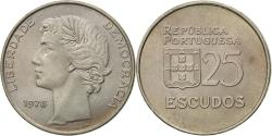 World Coins - Coin, Portugal, 25 Escudos, 1978, , Copper-nickel, KM:607