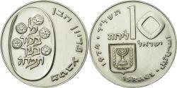 World Coins - Coin, Israel, 10 Lirot, 1974, Jerusalem, , Silver, KM:76.1